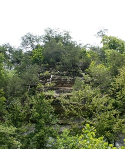 a bluff in Tennessee